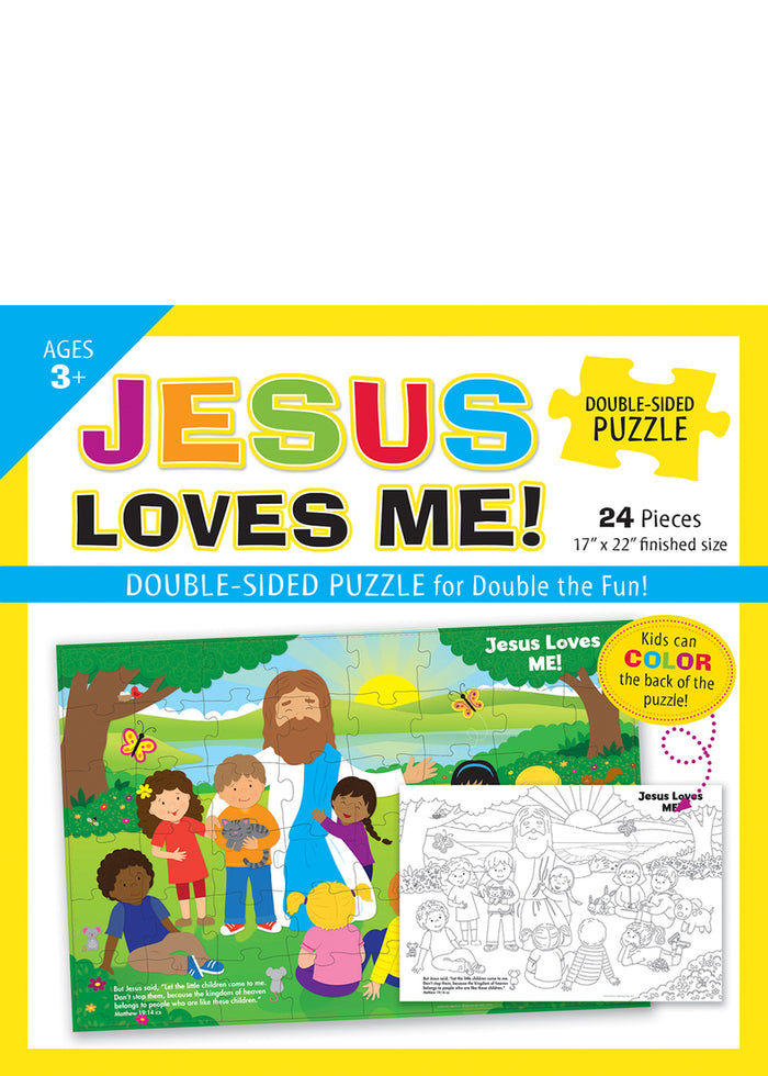 Jesus Loves Me ! Double-Sided Puzzle