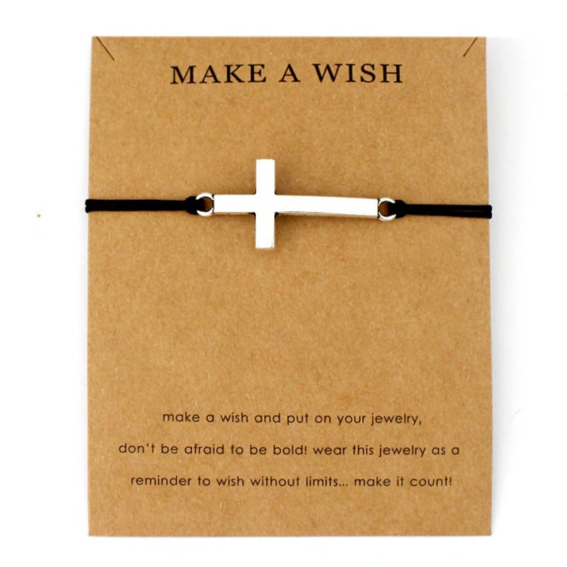 Make a Wish Bracelet (Different colours available)