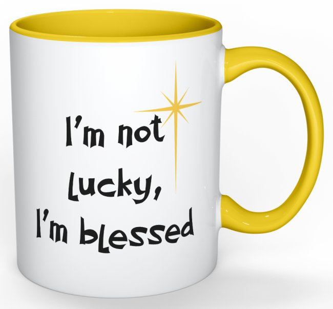 I'm Not Lucky, I'm Blessed - Yellow