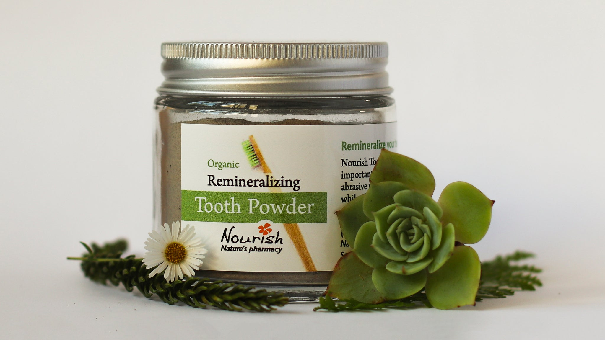 Remineralizing Toothpowder