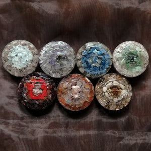 Orgonite Chakra Set of Seven