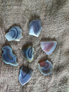 Banded agate