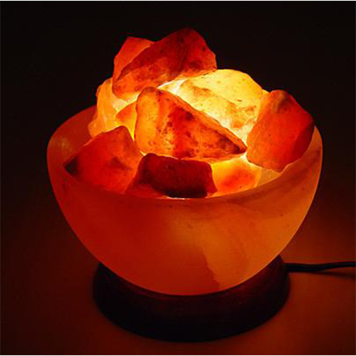 Himalayan Crystal Salt Lamp - Fire Bowl
