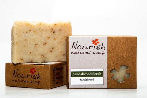 Sandalwood Scrub Soap