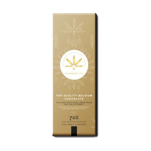 Canna Bliss Gold Chocolate Bar (CBD)