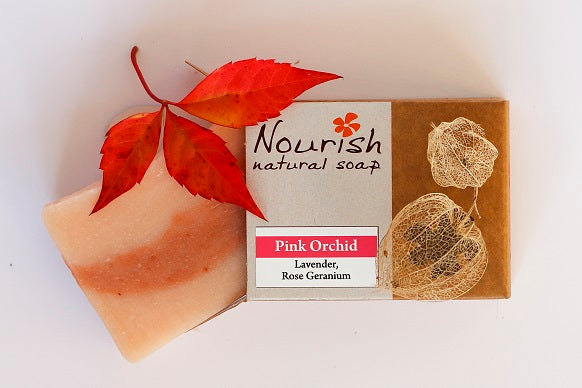 Pink Orchid Soap