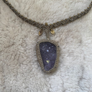 Priestess amethyst necklace