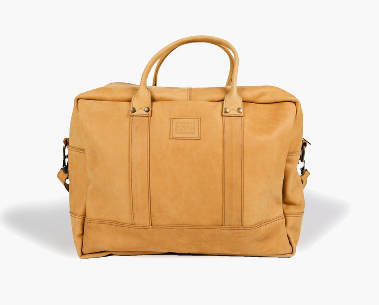 GERALTA WEEKEND BAG / CAMEL