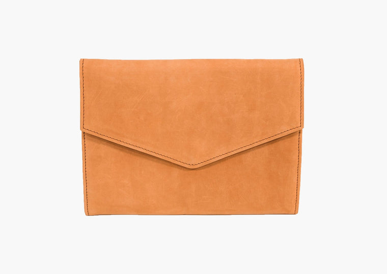 BOLE CLUTCH / IPAD CASE / COGNAC