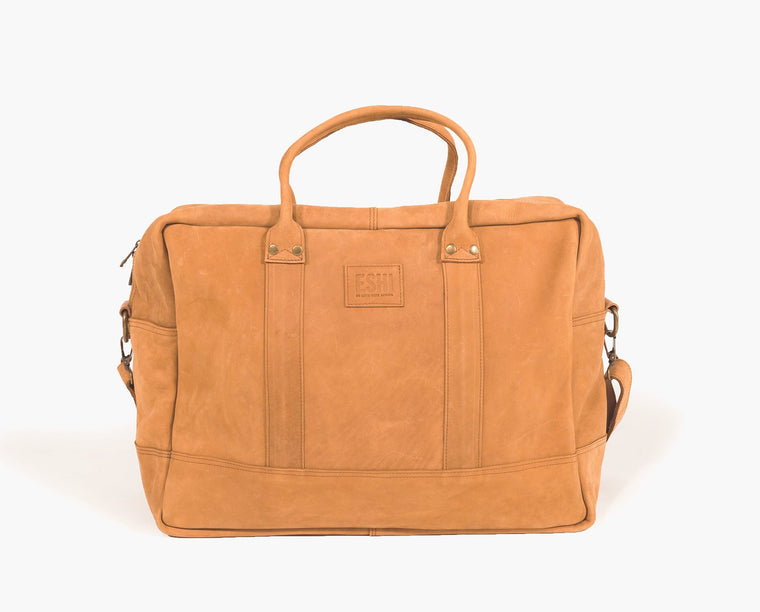 GERALTA WEEKEND BAG / COGNAC