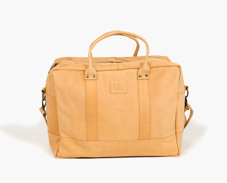 GERALTA WEEKEND BAG / NUDE