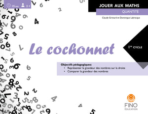 Le cochonnet 1er cycle - Collection Jouer aux maths