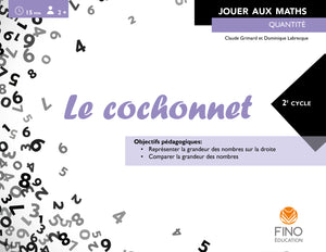 Le cochonnet 2e cycle - Collection Jouer aux maths