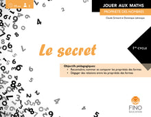 Le secret  - Collection Jouer aux maths