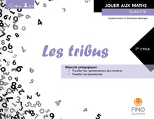 Les tribus 1er cycle - Collection Jouer aux maths