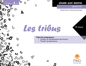 Les tribus - Collection Jouer aux maths