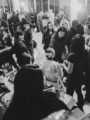 NYFW RUNWAY SHOW AW15 - BACKSTAGE BY VERONIKA BRUSA