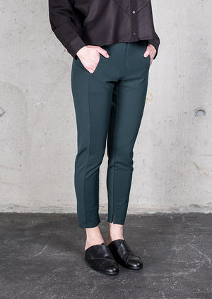 TROUSERS STRETCH - HEAVY STRETCH dark green