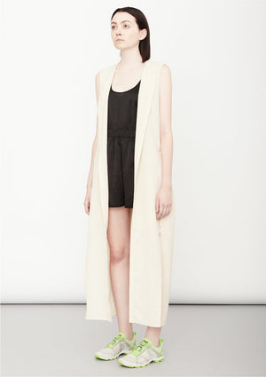 DRESS LONG SLEEVELESS - creme - BERENIK