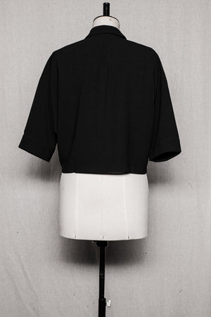 SAMPLE - BLOUSE SHORT - black