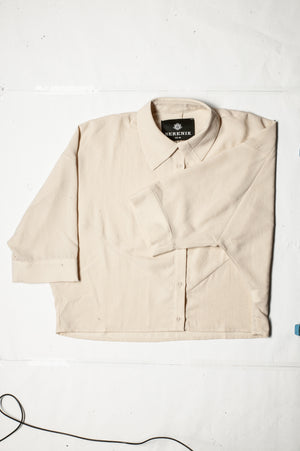 SAMPLE - BLOUSE SHORT - creme