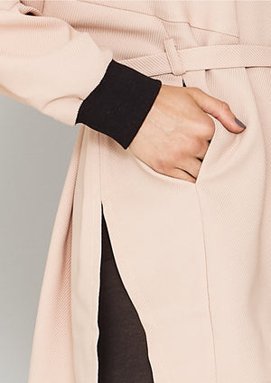 JACKET/DRESS - TWILL BIAS nude