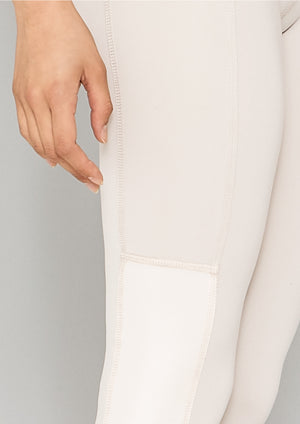 LEGGINS - white mat/shiny