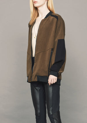 PILOT JACKET - SOFT OUTERWEAR - hazel