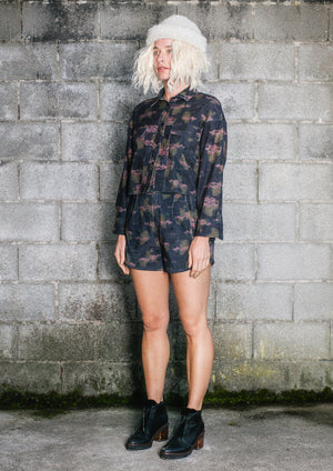 LIMITED EDITION - WINTER BLOUSE - CORD printed - BERENIK