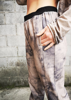 LIMITED EDITION - PANTS RIB WAIST - COTTON JERSEY printed sheep
