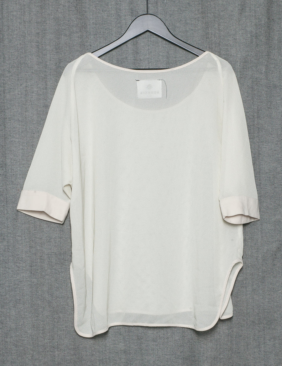 SAMPLE - SHIRT WIDE - mesh creme