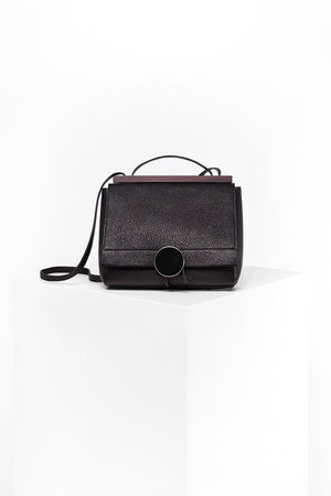 DISSELHOFF SHOULDER BAG - ORGANIC COW-LEATHER black