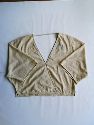 SAMPLE - TOP DRAPING - ivory