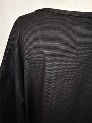 SAMPLE - SWEATER LONG SLEEVES - TECHLACES black