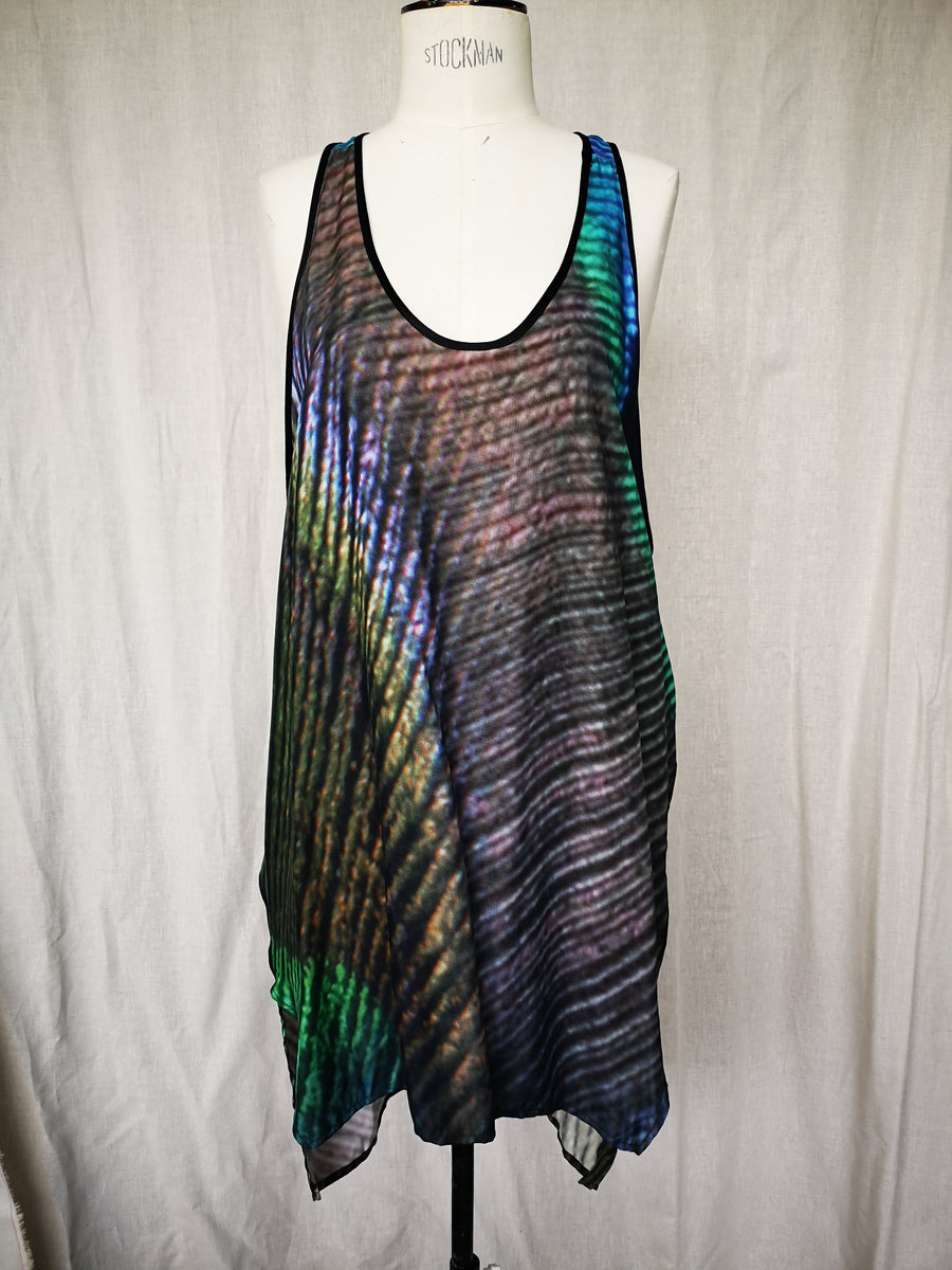 SAMPLE - TANK TOP - CUPRO printed