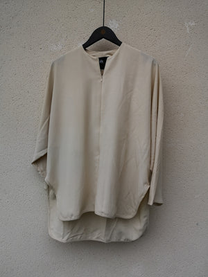 SAMPLE - SHIRT ZIP - beige