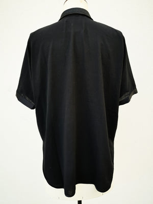 SAMPLE - BLOUSE SHORT SLEEVES - black