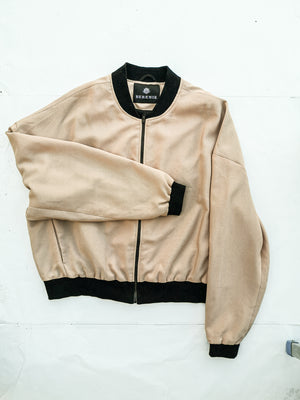 SAMPLE - PILOT JACKET SUMMER - bias twill peach