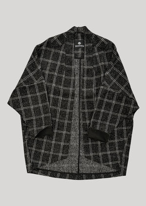 CARDIGAN - TWEED black/white