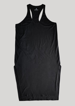 TANK DRESS - COTTON JERSEY black