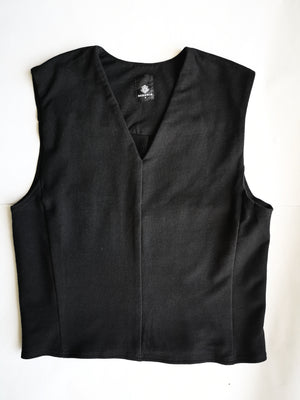 SAMPLE - TOP SLEEVELESS - cotton jersey black