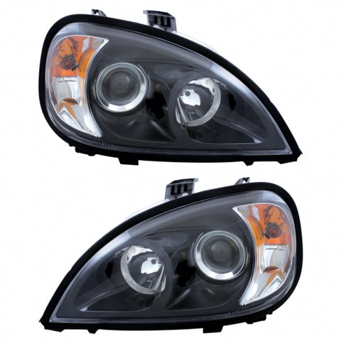"""Blackout"" Freightliner Columbia Projection Headlight"
