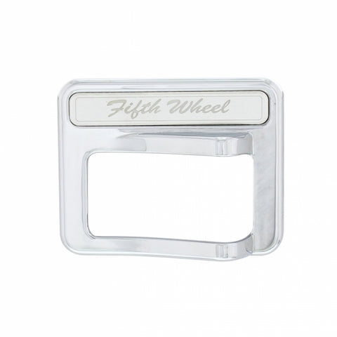 2014+ Peterbilt Chrome Rocker Switch Cover - Fifth Wheel