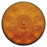 "10 LED 4"" Turn Signal Light - Amber LED/Amber Lens"