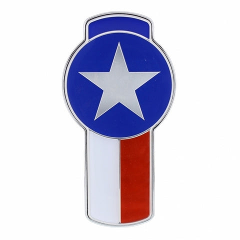 KW Small Chrome Emblem - Texas Emblem