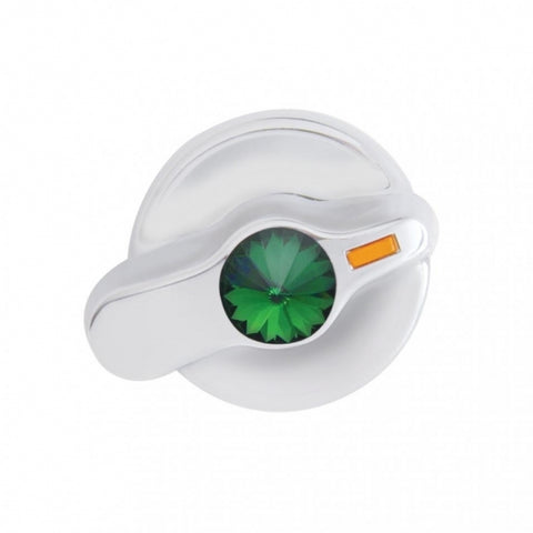 International Signature A/C Control Knob - Green Diamond