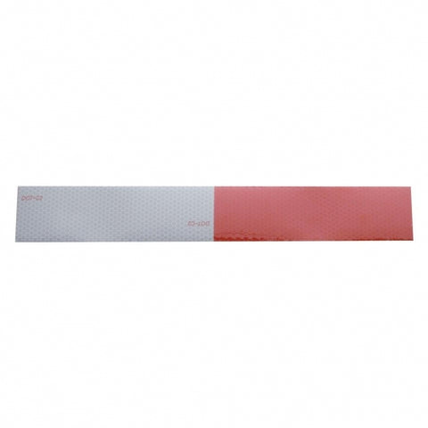 "Reflexite Reflector Tape - 6"" White/6"" Red"