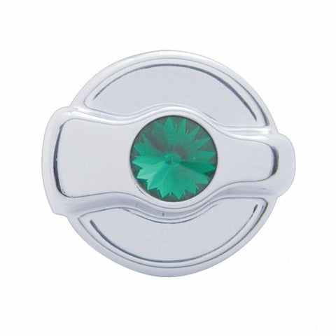 Peterbilt Signature A/C Control Knob - Green Diamond