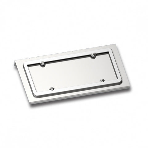 Stainless Steel Single License Plate/Swing Plate For All Kenworth Models