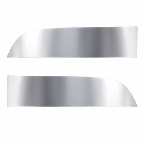 "Stainless 8"" Chopped Window Trim For Kenworth T680/T880 Trucks"